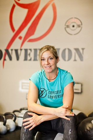 CrossFit Conversion founder Reagan Prather. (Photo by Shea Halliburton)