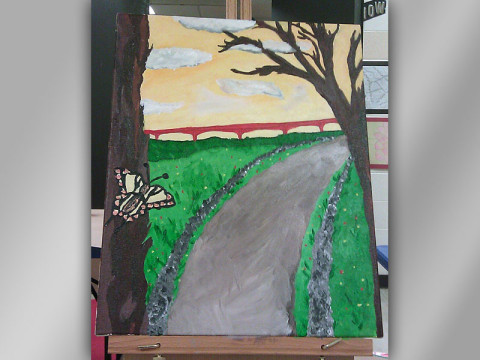 Cumberland Arts Painting January