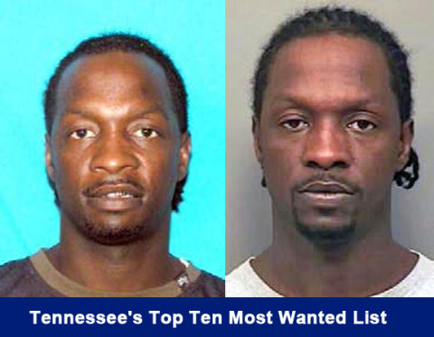 Danyon Lydell Dowlen is on Tennessee's Top Ten Most Wanted List