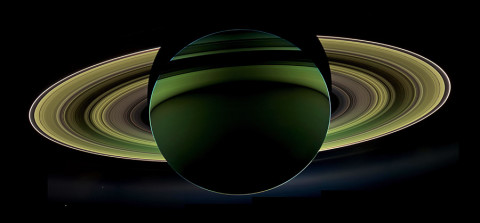 NASA's Cassini spacecraft has delivered a glorious view of Saturn, taken while the spacecraft was in Saturn's shadow. The cameras were turned toward Saturn and the sun so that the planet and rings are backlit. (Image Credit: NASA/JPL-Caltech/Space Science Institute)