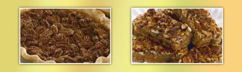 Martha White Pecan Pie and Chocolate Chip Pecan Pie Bars