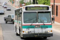 A Clarksville Transit System Bus