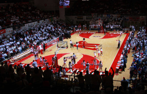 Austin Peay Governors vs. Murray State Racers Saturday night. (Courtesy: Austin Peay Sports Information)