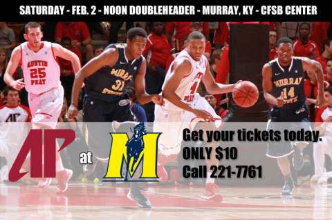 APSU vs. Murray tickets on sale. (Courtesy: Austin Peay Sports Information)