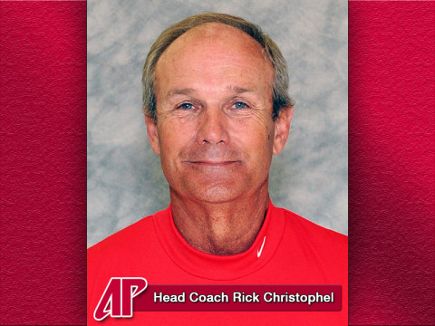 APSU Football Head Coach Rick Christophel