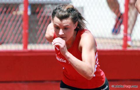 APSU's Chantelle Grey. Austin Peay Women's Track and Field. (Courtesy: Brittney Sparn/APSU Sports Information)