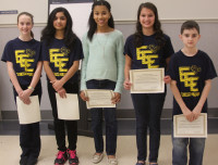 Northeast Middle School's Electric Eagles Blue Team