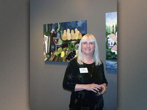 Painter Gail Meyer
