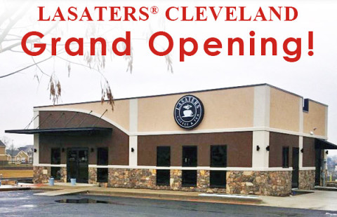 Lasaters Coffee and Tea Cleveland Tennessee to open January 24th.