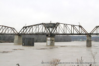 Railroad Bridge over the Cumberland River in Clarksville