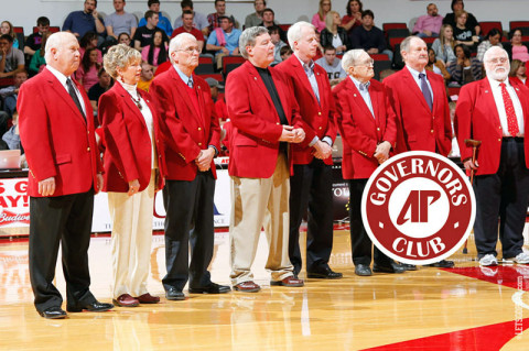 Red Coat Society. (Courtesy: Austin Peay Sports Information)