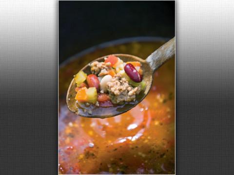 Hearty Sausage & Bean Soup