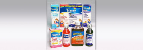 Triaminic Syrups and Theraflu Warming Liquids recalled