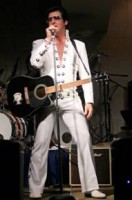 Freddy B as Elvis Presley