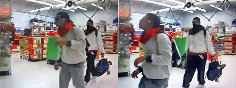Clarksville Police need the publics assistance identifying the Christmas thieves in this photo.
