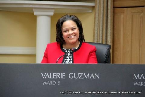 Ward 5 Councilman Valerie Guzman