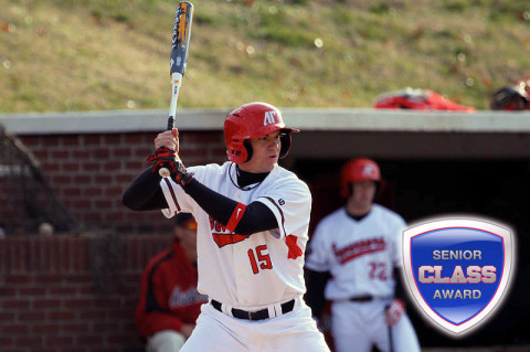 Senior infielder Reed Harper is one of 30 finalists for the 2013 Senior CLASS Award®. (Courtesy: Austin Peay Sports Information)