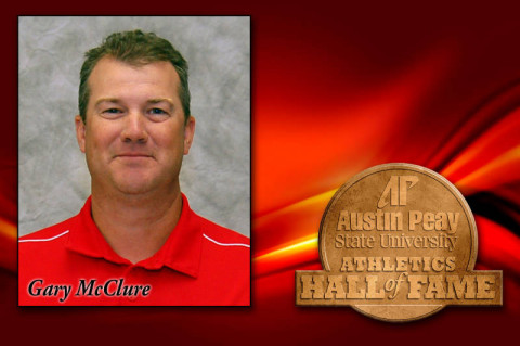 Austin Peay Baseball head coach Gary McClure inducted into APSU Athletics Hall. (Courtesy: Austin Peay Sports Information)