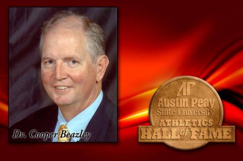 Dr. Cooper Beazley (Courtesy: Austin Peay Sports Information)