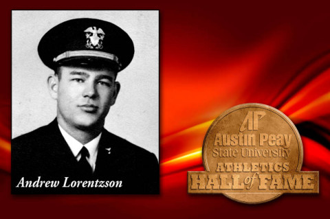 Andrew Lorentzson inducted into APSU Hall of Fame. (Courtesy: Austin Peay Sports Information)