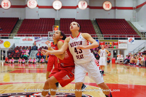 Austin Peay Women's Basketball.