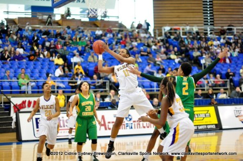 Bashaara Graves-Clarksville High School vs Memphis Central 2012