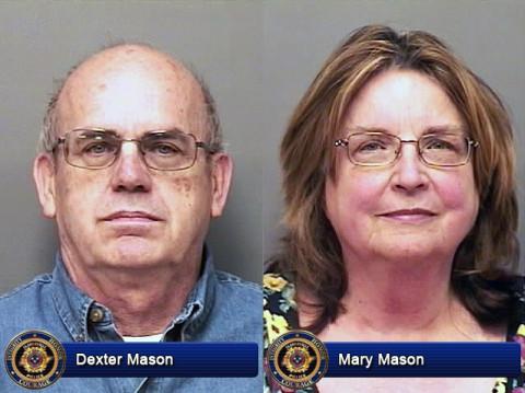 Dexter Mason and Mary Mason
