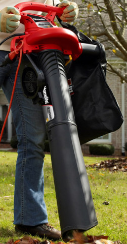 Homelite electric blower vacuum