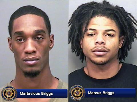 Martavious Briggs and Marcus Briggs