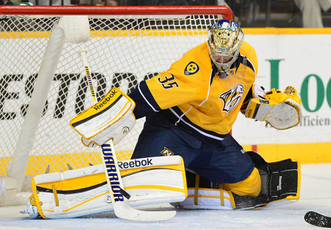 Nashville Predators' Pekka Rinne. (Photo by Don McPeak-USA TODAY Sports)