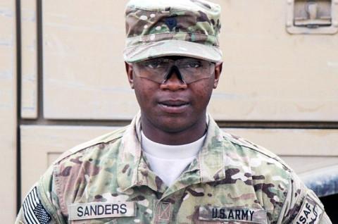 Spc. Annson J. Sanders