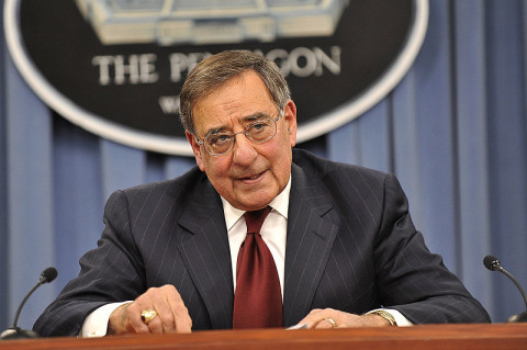 United States Secretary of Defense Leon E. Panetta.  (DoD photo by Glenn Fawcett.)
