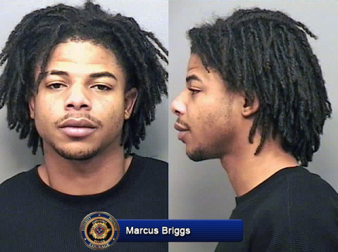 Marcus Briggs is wanted by Clarksville Police for his involvement in a shooting that happened January 31st, 2013.