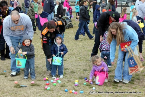 Cunningham Fire Department's Annual Easter Egg Hunt.