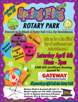 2013 Friends of Rotary Park Spring Fling
