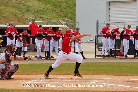 Austin Peay Baseball at Raymond C. Hand Park.