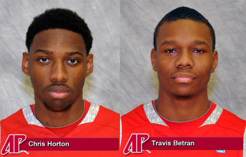 APSU Chris Horton and Travis Betran