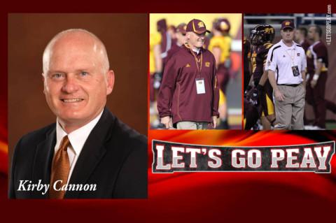 APSU Football Coach Kirby Cannon. (Austin Peay Sports Information)