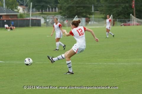 Austin Peay Women's Soccer.