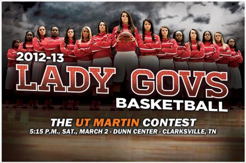 Austin Peay Women's Basketball. (Courtesy: Austin Peay Sports Information)