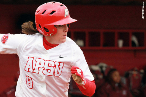 APSU Women's Softball. (Courtesy: Brittney Sparn/APSU Sports Information)