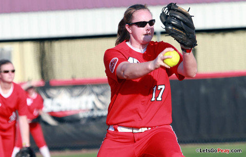 Austin Peay Women's Softball. (Courtesy: Brittney Sparn/APSU Sports Information)