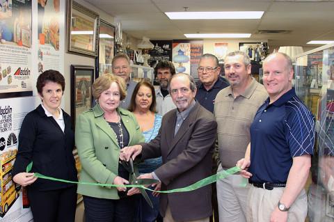 Aladdin Lighting Technologies Green Ribbon Cutting Ceremony