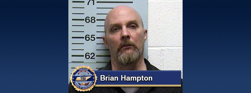 Hampton, 44, of White House, Tennessee was indicted by the Robertson