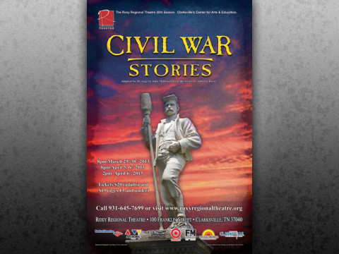 Civil War Stories at the Roxy Regional Theatre