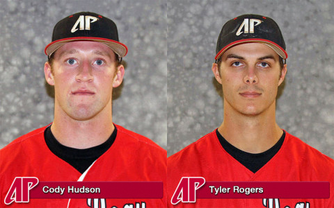 APSU's Cody Hudson and Tyler Rogers received this week's OVC honors.