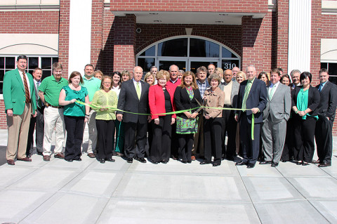 Legends Banks Green Ribbon Cutting Ceremony.