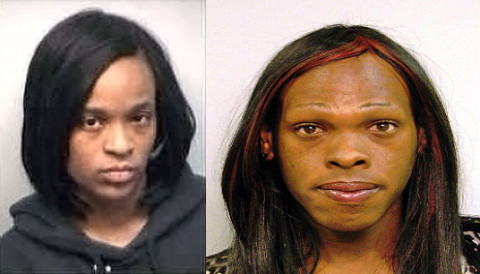 Marquisha Carthall Childress (Left) and Randall Joe Woods (Right) are wanted are wanted for felony theft. If seen please call 911. Anyone with information can call the TIPSLINE, 931.645.8477.
