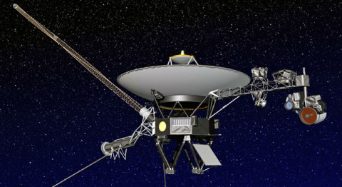 Artist's concept of NASA's Voyager spacecraft. (Image credit: NASA/JPL-Caltech)