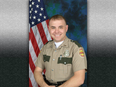 Nathan W. Hall named 2012 Trooper of the Year